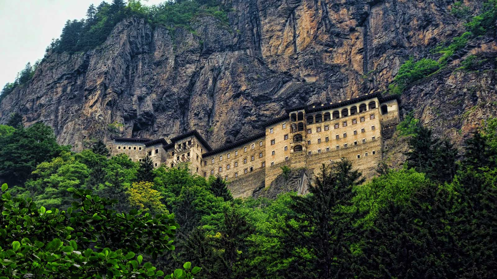 The Ancient History of the Enchanting Sumela Monastery
