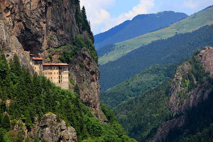 Visiting the Sumela Monastery