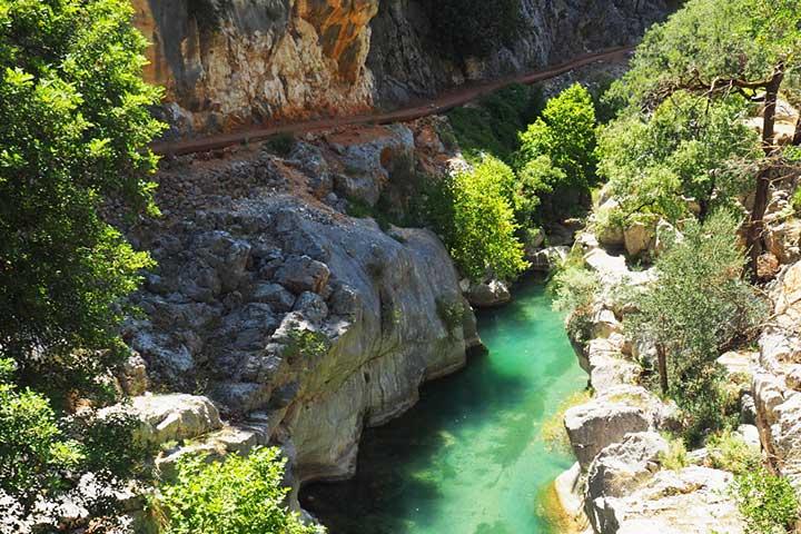 Yazili Kanyon Isparta