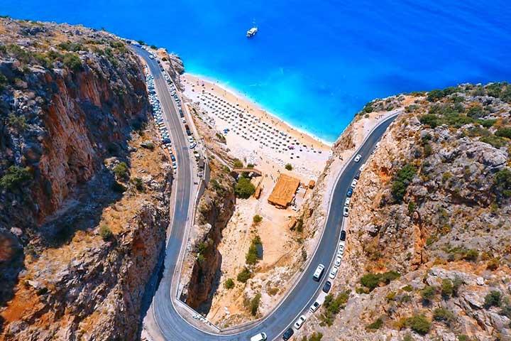 Antalya-Fethiye Road