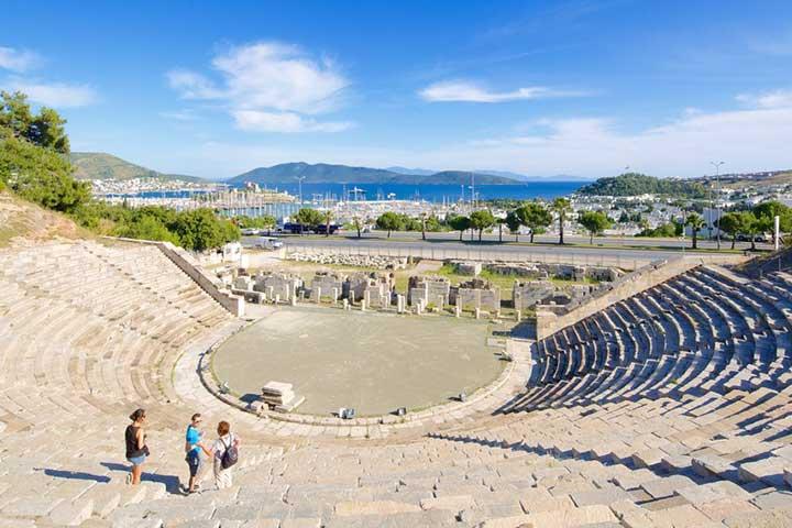 Bodrum Amphitheatre Visit