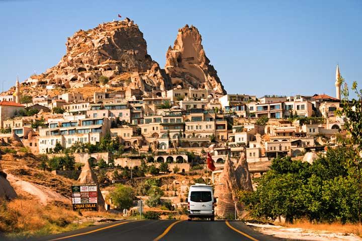 Driving Cappadocia