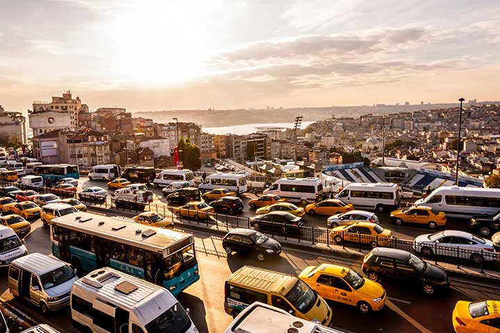 Driving in Istanbul