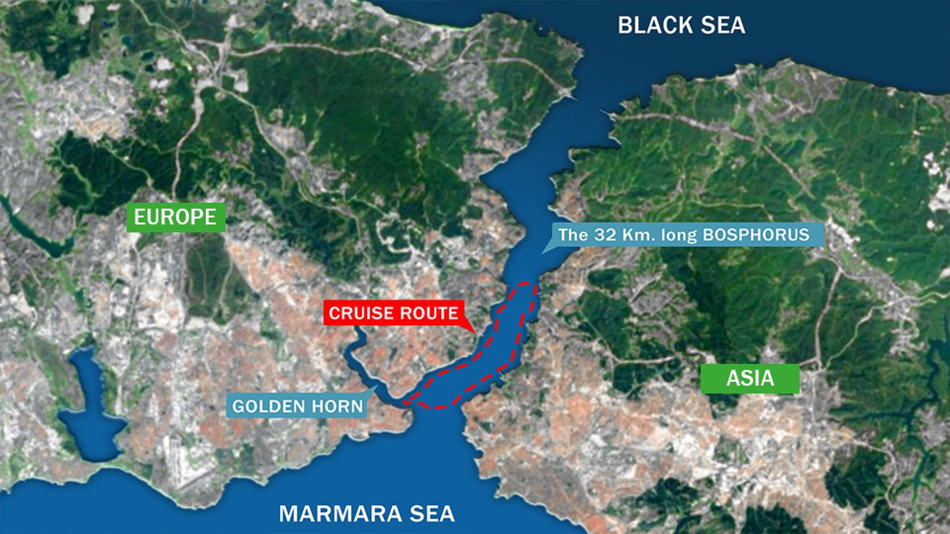 Geography Location Istanbul