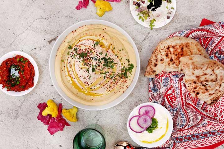 Jordanian Hummus