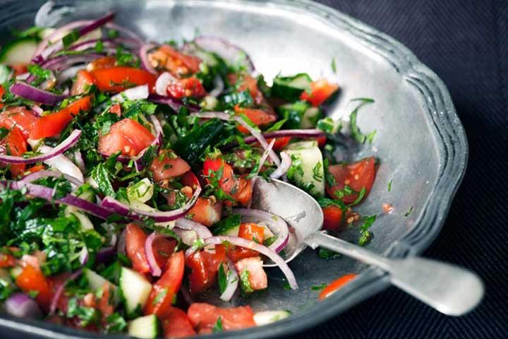 Turkish Breakfast Salad