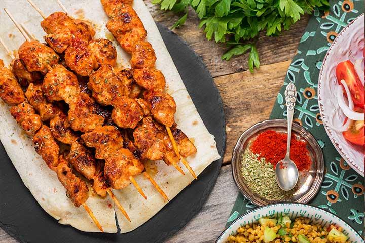 Turkish Chicken Kebab