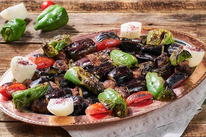 Turkish Eggplant Kebab