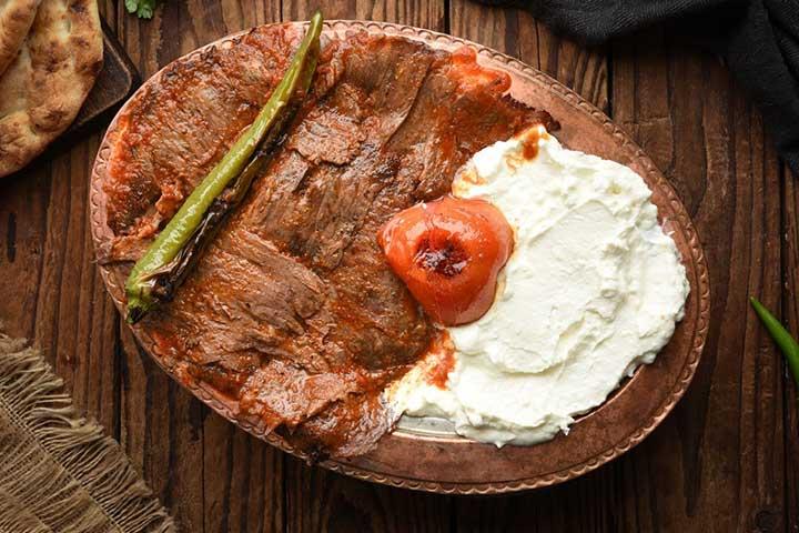 Turkish Iskender Kebab