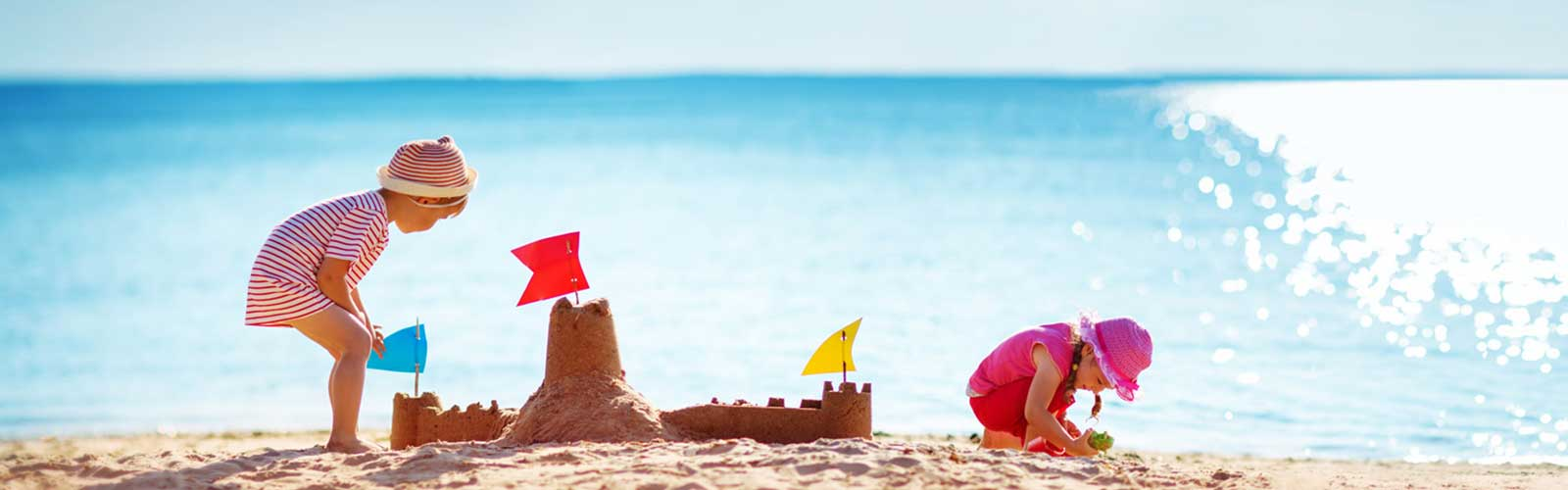 Family Beach Travel in Turkey with Kids