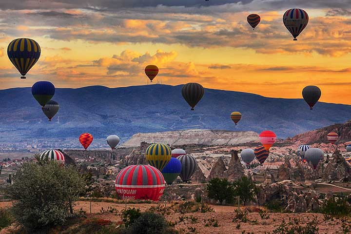 Ballooning in Goreme Cappadocia