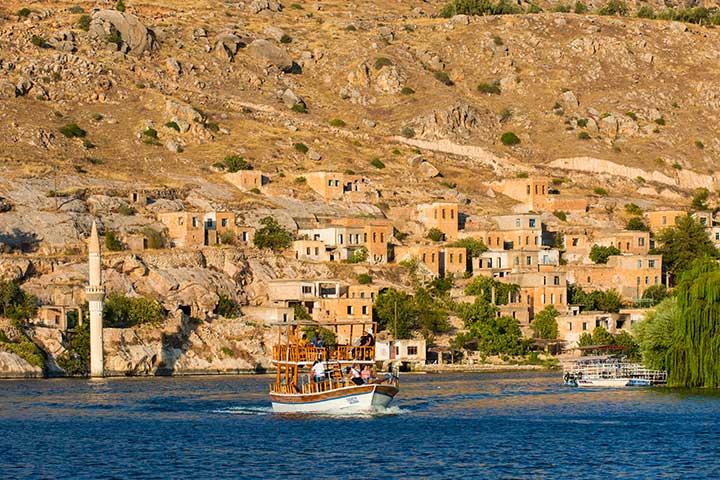 Halfeti Village Sanliurfa Turkey
