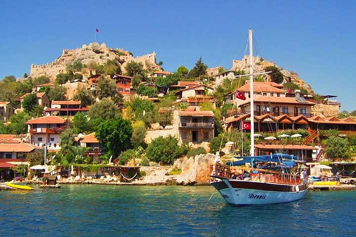 Kalekoy (Simena) Kekova Village, Antalya