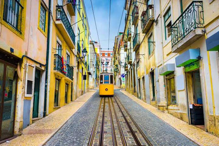 Travel Portugal Cable Car