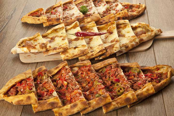 Turkish Pizza Pide