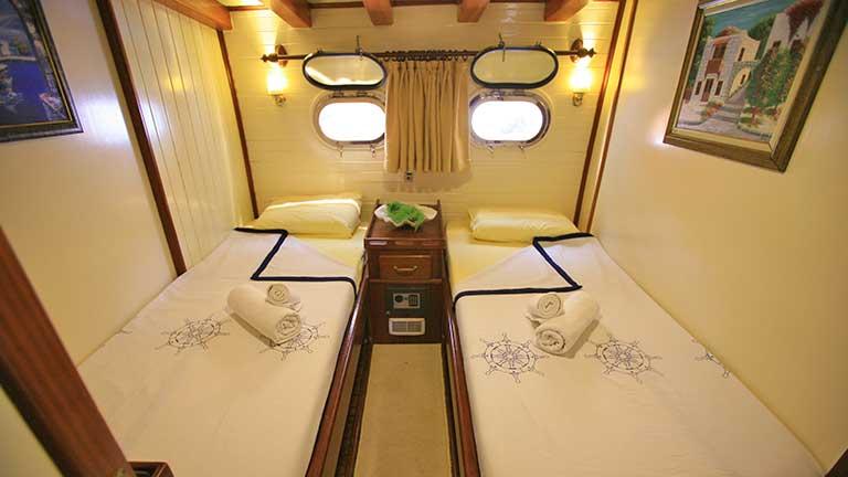 Gulet Aegean Clipper Cabins