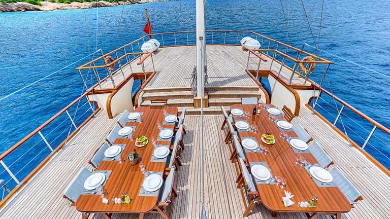 Gulet Love Boat Deck