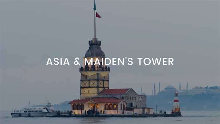Asia & Maidens Tower Istanbul Tour