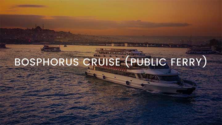 Bosphorus Cruise Public Ferry Istanbul Tour