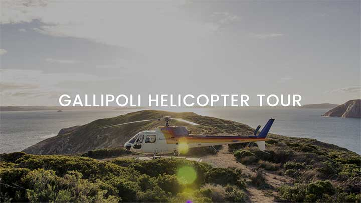 Gallipoli Helicopter Tour from Istanbul