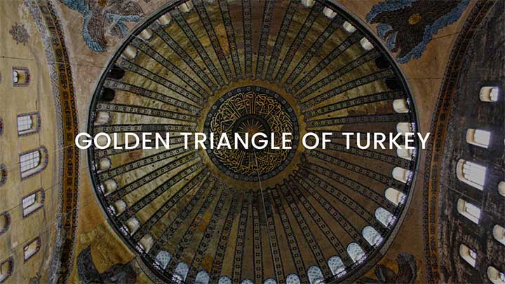 Golden Triangle of Turkey Tour Package